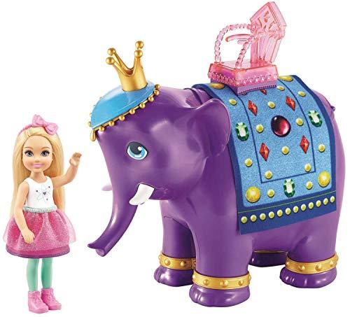 Barbie Muñeca Chelsea y Rey Elefante