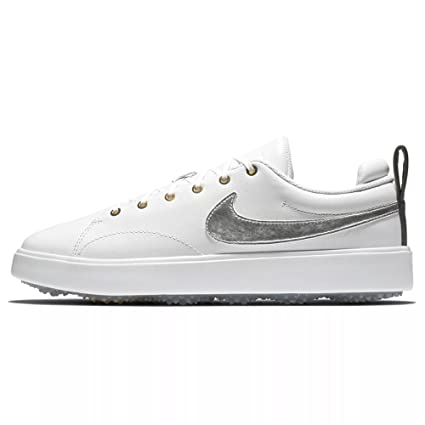 4a744e02ed56 Amazon.com  Nike New Course Classic Spikeless Golf Shoes  Sports ...