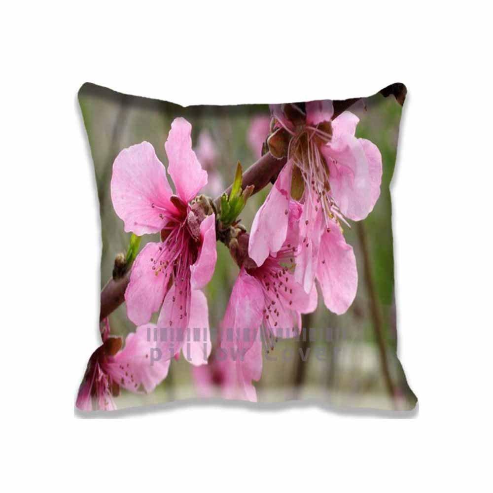 Amazon Home Decor Pink Flower Throw Pillows Cushion Design 20x