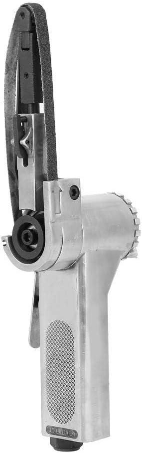 Pneumatic Polishing Tool 16000rpm 150L//min 1//4in Thread Industrial Belt Sander Machine for Grinding Welding Parts 20520mm-#1 Air Belt Sander