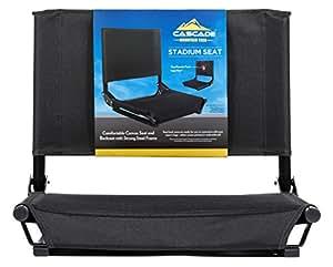 Cascade Mountain Tech Wide Stadium Seat (Black)
