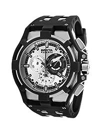 Invicta Men's Akula Reserve 14011 Black Rubber Swiss Chronograph Watch
