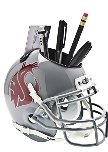 NCAA Washington State Cougars Mini Helmet Desk Caddy (Helmet Cougars Washington State)