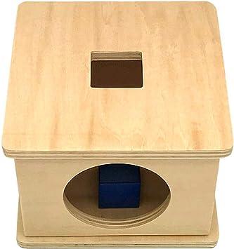 heDIANz - Caja de madera para niños, juguete pedagógico: Amazon.es ...