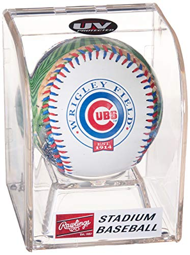 Stadium Baseball Chicago - Rawlings MLB Chicago Cubs 05860008111MLB Stadium Baseball (All Team Options), Blue, One Size