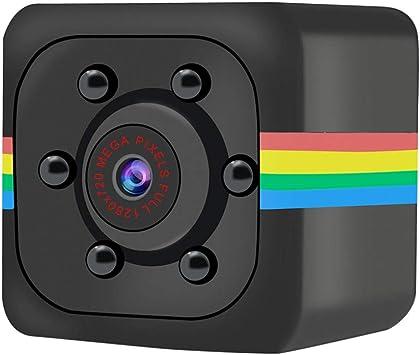 Opinión sobre WARMTOWER Spy Hidden Mini Cube Camera Spy Nanny CAM Body Camera Video Recorder Inicio Vigilancia