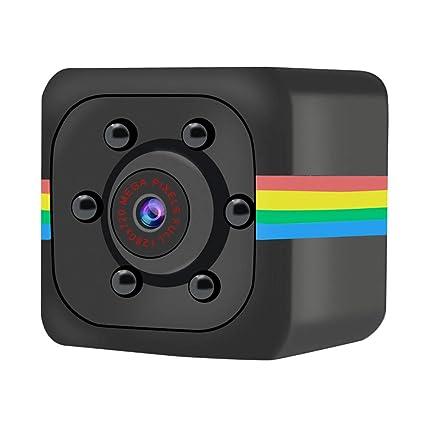 MENGZHEN 1PC Mini cámara Oculta Full HD 720P portátil pequeña con visión Nocturna y detección de