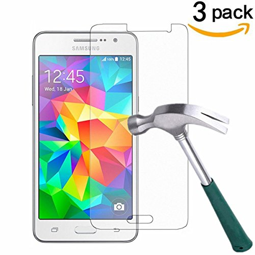 Galaxy Core Prime Screen Protector,TANTEK [Bubble-Free][Anti-Scratch][Anti-Glare][Anti-Fingerprint] Tempered Glass Screen Protector for Samsung Galaxy Core Prime G360,[Lifetime Warranty]-[3Pack]