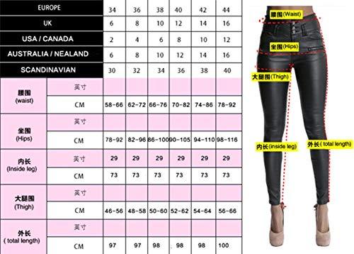 Taille Blau Coton Stretch Pour Pantalon Extensible De 2 Élastique En Basse Jeans Vêtements Femmes Denim Mince Trou Mendiant qnE1CwnaU