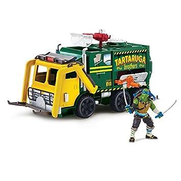 Teenage Mutant Ninja Turtles 2 tortuga táctico camión y ...