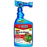 Bayer Advanced 704710 2-in-1 Moss and Algae Killer Ready-To-Spray, 32-Ounce