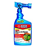 Bayer Advanced 704710 2-in-1 Moss and Algae Killer Ready-To-Spray 32-Ounce