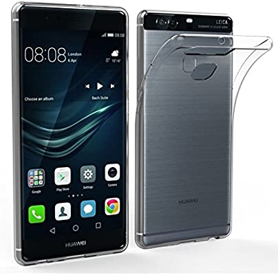 ELECTRÓNICA REY Funda Carcasa Gel Transparente para Huawei P9 Plus ...