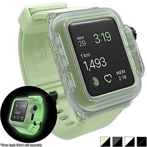 Catalyst Case for Apple Watch 42mm Series 2 - Waterproof Shock Resistant (Glow in the Dark)