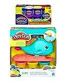 Play-Doh Wavy the Whale + Play-Doh Plus Compound Bundle