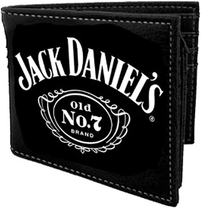 Jack Daniel'S – Cartera Plegable con Logo nº 7
