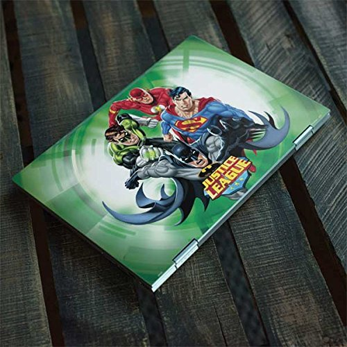 Skinit DC Comics Justice League Envy x360 15t (2018) Skin - Justice League Team Power Up Green Design - Ultra Thin, Lightweight Vinyl Decal Protection by Skinit (Image #3)