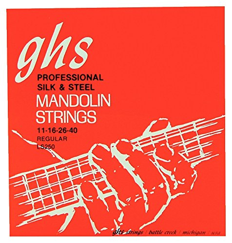 GHS LS250 Mandolin Silk & Steel Regular Strings GHS LS 250 REGULAR