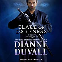 Blade of Darkness: Immortal Guardians, Book 7 Audiobook by Dianne Duvall Narrated by Kirsten Potter