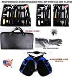 ProRider USA Horse Farrier Tool Equine Care Tool Kit Hoof Nipper Knife Gloves Apron 98479
