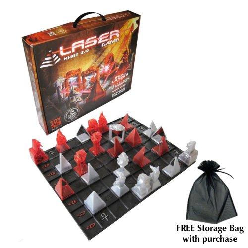 - Khet 2.0 Laser Game with free storage bag
