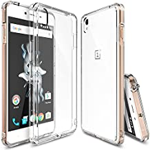 OnePlus X Case, Ringke FUSION [CRYSTAL VIEW] Shock Absorption TPU Bumper Drop Protection [FREE Screen Protector] Premium Crystal Clear Hard Back [Anti-Static][Scratch Resistant] for OnePlus X
