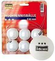 30 (5x 6) Tischtennisbälle / Farbe: weiß / 3 Sterne