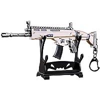 """Armi SCAR L pistola fucile fucile giocattolo modello in metallo, Dimensione 6.8 """"/ 17 cm, arma replica accessori per bambini adulti ragazzi"""