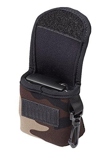 LensCoat BodyBag GoPro Camouflage Neoprene Protection Camera Bag case (Forest Green Camo) lenscoat