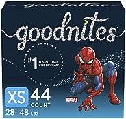 Goodnites Nighttime Bedwetting Underwear, Boys' XS (28-43 lb.), 4