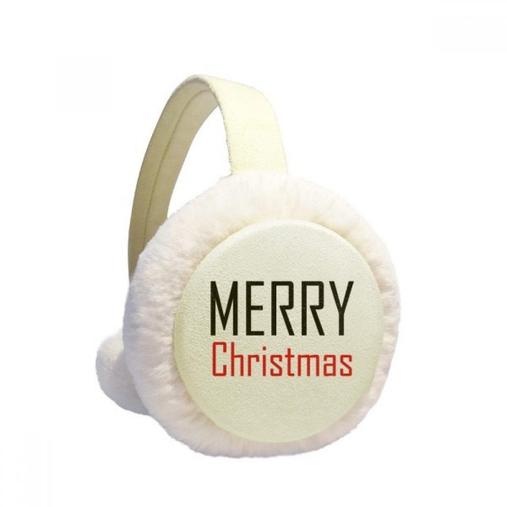 Celebrate Christmas Festival Holiday Winter Earmuffs Ear Warmers Faux Fur Foldable Plush Outdoor Gift