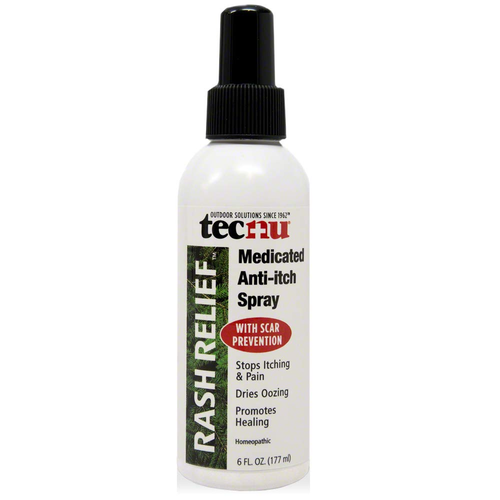 Tecnu Rash Relief Medicated Anti-Itch Spray, Soothes Itching and Prevents Scarring, 6 fluid Ounces by Tec Labs