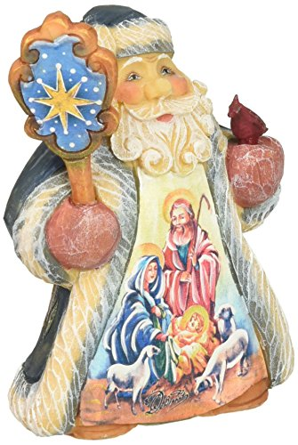 G. Debrekht Nativity Santa Tiny Tale, used for sale  Delivered anywhere in USA