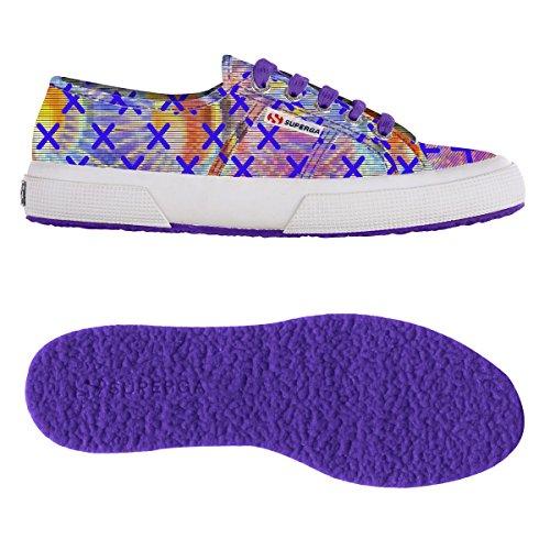 Superga Fantasy Fusion Violet Cotu 2750 Baskets Femme pprUqw