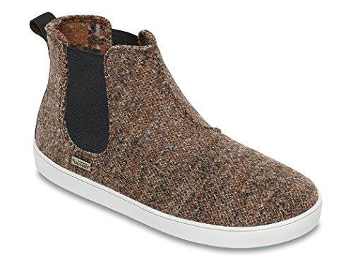 "Living Kitzbühel Chelsea Boots Tweed ""Chelsea"" - Zapatillas Unisex adulto Braun (Chesnut)"