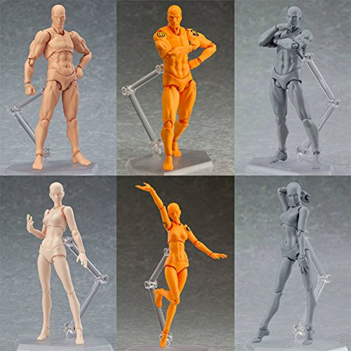 Studyset-Anime-Archetype-He-She-Ferrite-Figma-Movable-Body-PVC-Action-Figure-Model-Toys-Doll-for-Collectible