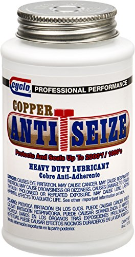 Cyclo Copper Heavy-Duty Anti-Seize Lubricating Compound - Case of 12 by Cyclo