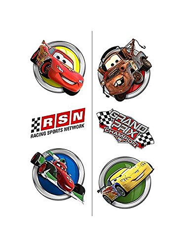 Disney/Pixar Cars Dream Party Tattoos 12 Pack by Hallmark