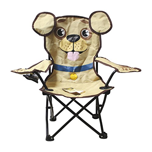 Kids Lucky Puppy Folding Chair by Wilcor