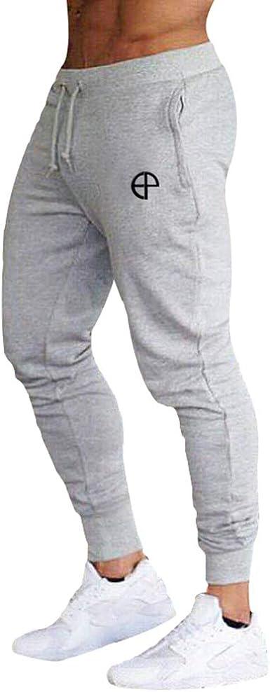 Pantalons Largos pour Hommes Jogging Sport Fitness Pantalon