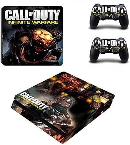 thtb Playstation 4 Slim + 2 controlador Diseño Sticker Protector Juego – Call of Duty: Infinite Warfare (5)/PS4 S: Amazon.es: Videojuegos