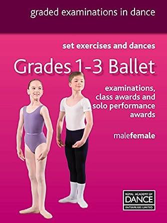 495b57d69 Royal Academy of Dance Grades 1-3 Ballet  Amazon.co.uk  Royal ...
