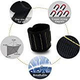 Puren Magnetic Wristbands, 5 Strong Magnets in Wristband Holding Tools Firmly