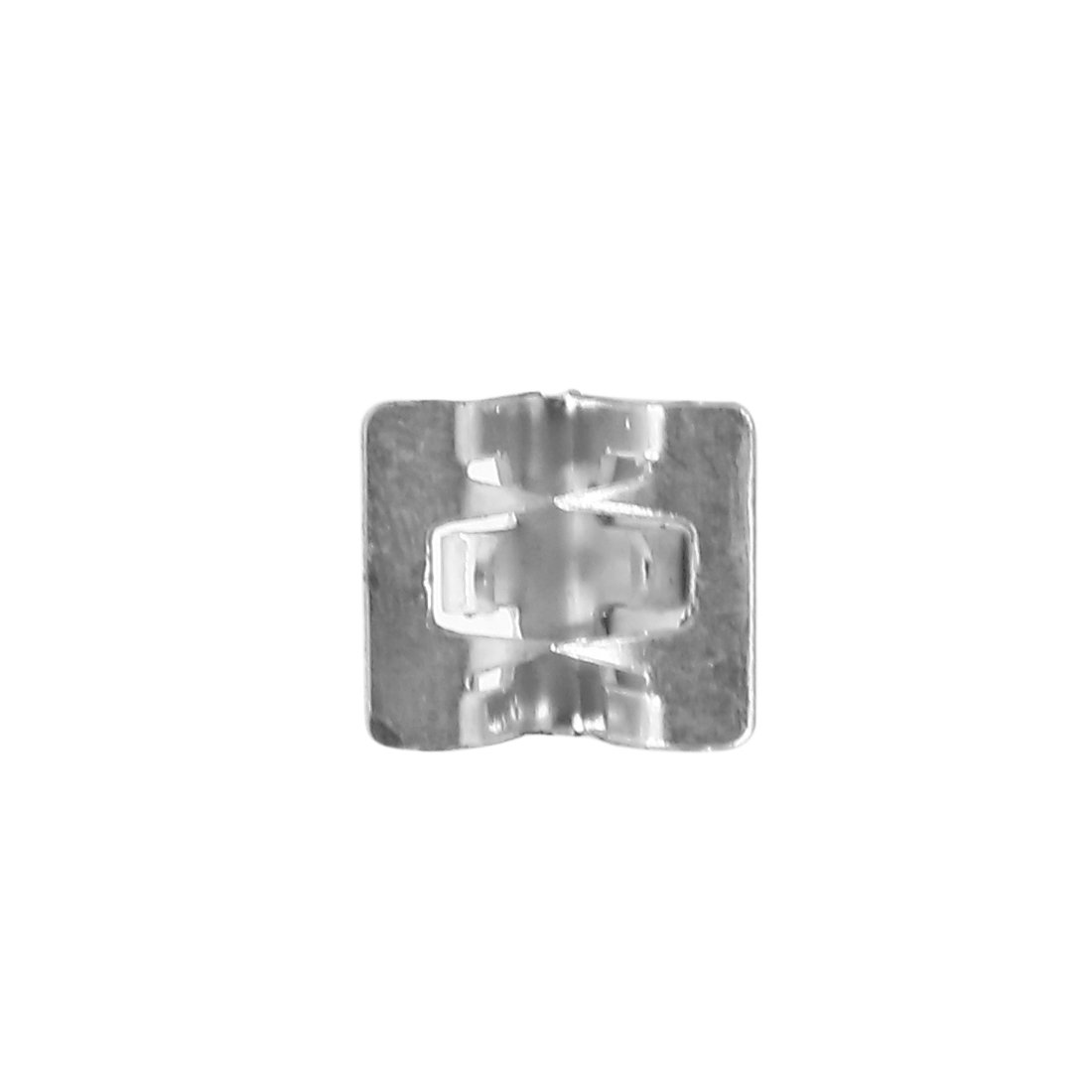 Sourcingmap 10Pcs Metal Rivets Car Interior Dashboard Panel Trim Clips Silver Tone