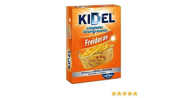 KIDEL desengrasante para freidoras caja 3 sobres: Amazon.es: Salud ...