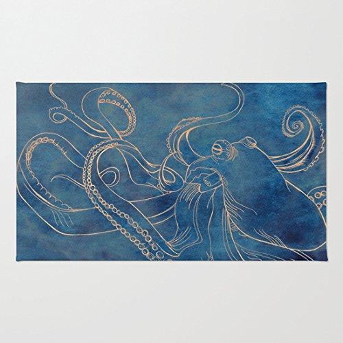 Octopus Themed Floor Mat 23 6 L X 15 7 W