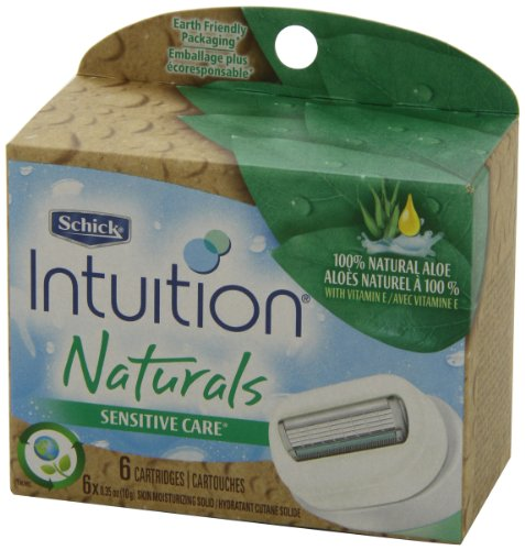 Schick Intuition Sensitive Care Moisturizing Razor Blade Refills for Women with Natural Aloe - 6 Count by Schick (Image #4)