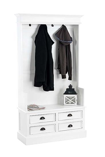 Clp Garderobenschrank Just Aus Mahagoniholz Garderobe Im