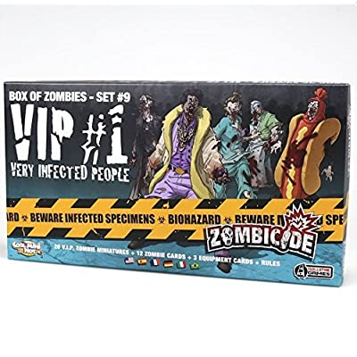CMON Zombicide VIP #1: Very Infected People Board Game: Toys & Games