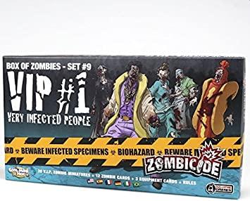 Edge Entertainment - VIP: Very Infected People 1, expansión para Zombicide (ZG68): Amazon.es: Juguetes y juegos
